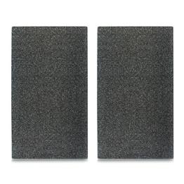 """Herdabdeck-/Schneideplatten-2er Set- """"Granit"""" – anthrazit – Kochfeldabdeckung – Schneidebrett – Spritzschutz aus Glas – 30 x 52 cm - 1"""