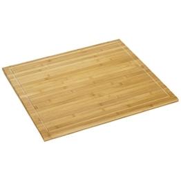 Kesper 58599 Schneide-und Abdeckplatte, Bambus, 56 x 50 cm -