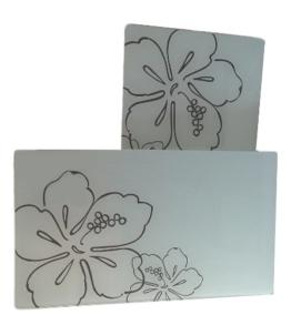 MQ 2x Glas Abdeckplatte Herdabdeckplatte Schneideplatte Servierplatte Kochfeldabdeckung Neu - 1