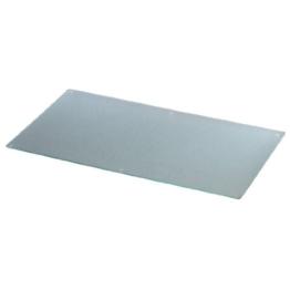 Xavax Multifunktionales Glasschneidebrett zum Schneiden, Anrichten und Servieren, Auch geeignet als Kochplattenabdeckung, 52 x 30 cm, Sicherheitsglas, Transparent -