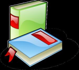 2 Bücher als Clipart